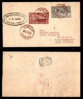 ITALIA - AEROGRAMMI - 1926 (1 Aprile) - Venezia Pavia - Aerogramma Per Milano - Longhi 1460 - 25 Volati - Sellos