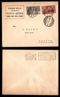 ITALIA - AEROGRAMMI - 1926 (7 Aprile) - Ostia Genova - Longhi 1466 - Circa 100 Volati - Sellos