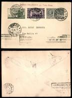 ITALIA - AEROGRAMMI - 1927 (8 Aprile) - Venezia Roma - Longhi 1707 - Sellos