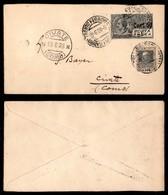 ITALIA - AEROGRAMMI - 1928 (19 Giugno) - Trento Milano - Longhi 1853 - 48 Volati - Sellos