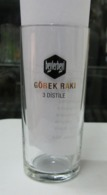 AC - BEYLERBEYI GOBEKRAKI 3 X FILTRATED/ DISTILLED GLASS WITH MEASUREMENT FROM TURKEY - Autres Bouteilles