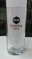 AC - BEYLERBEYI GOBEKRAKI 3 X FILTRATED/ DISTILLED GLASS WITH MEASUREMENT FROM TURKEY - Otras Botellas