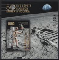 Hungary (2019) - Block -  /  Espace - Space - Moon - Apollo - Astronaut - Raumfahrt