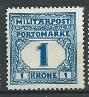 Bosnie Herzégovine  - Taxe    - Yvert N°  25 (*)  Ad 39508 - Bosnië En Herzegovina