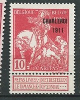 Belgique - Yvert N°  107  (*)     -  Ad 39518 - 1910-1911 Caritas