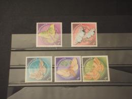 BOTSWANA - 2000 FARFALLE 5 VALORI - NUOVI(++) - Botswana (1966-...)