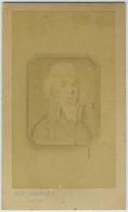 CDV. Jacques-Marie Le Père, Inspecteur Général Des Ponts Et Chaussées. Suez. Égypte. Auguste Josset à Gisors. - Photographs