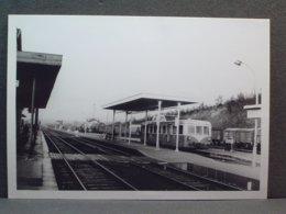 Longueville Autorail FNC à Quai Le 13 Décembre 1970 - Trains