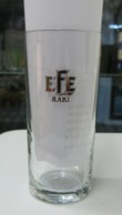 AC - EFE RAKI GLASS  FROM TURKEY - Andere Flessen