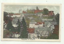 Monschau Mit Schlosruine   -  Verzonden 1921 - Monschau