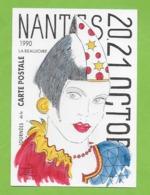 CPM Illustrateur Jean Luc Perrigault.44 Nantes.Journée De La Carte Postale 20,21 Octobre 1990. - Nantes