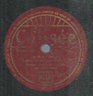 "78 Tours - ORCHESTRE ROLANDO  - COLISEE  11152  "" AMAPOLA "" + "" MAYA "" - 78 Rpm - Gramophone Records"
