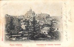 12635 - Piazza Armerina - Panorama Del Giardino Garibaldi ( Enna ) F - Enna