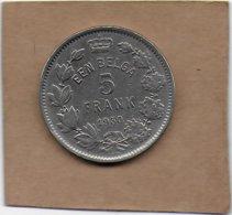 5 Francs Un Belga Nickel 1930 FL  Pos . B - 1909-1934: Albert I