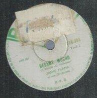 "78 Tours - JAIME PLANA  - POLYDOR ? 524883  "" BESAME MUCHO "" + "" AMOR, AMOR "" - 78 Rpm - Gramophone Records"