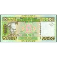 TWN - GUINEA 39a - 500 Francs 2006 Prefix GQ UNC - Guinea