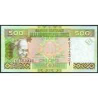 TWN - GUINEA 39b - 500 Francs 2012 Prefix KO UNC - Guinea