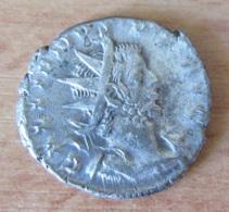 Monnaie Romaine - Antoninien De Gallien (GALLIENVS) (253-268) - La Victoire (VICTORIA GERMANICA) Au Revers - 5. Der Soldatenkaiser (die Militärkrise) (235 / 284)