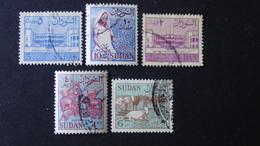 Sudan - 1962 - Mi:SD 179X,180X,185X,187X - Yt:SD 144,145,150,152 O - Look Scan - Sudan (1954-...)