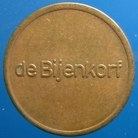 KB062-1 - DE BIJENKORF - Amsterdam - B 22.0mm - Koffie Machine Penning - Coffee Machine Token - Firma's