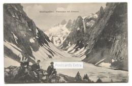 Santisgebiet - Fahlensee Mit Altmann - Glacier, Climbers - 1910 Used Switzerland Postcard - AI Appenzell Inner-Rhodes