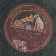 """78 Tours - TERRIS ET SARVIL  -  GRAMOPHONE 6245  """" LE MATCH DE BOXE """" + """" TITIN SOLDAT """" - 78 Rpm - Gramophone Records"""
