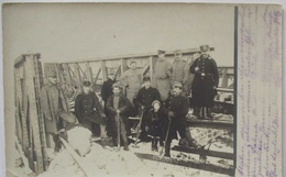 Österreich Soldaten Arbeiter Abteilung Landwehr IR 1, Feldpost 1915 (27464) - War 1914-18