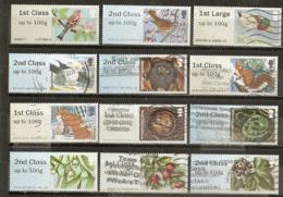 Grande-Bretagne Great Britain Post & Go Stamps Obl - Gran Bretaña