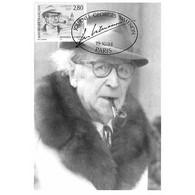 Carte Premier Jour - Journée Georges Simenon - 19/10/1994 Paris - Cartes-Maximum