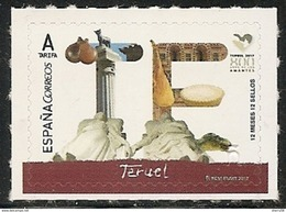 2017-ED. 5112A 12 Meses, 12 Sellos. Teruel - NUEVO- - 1931-Today: 2nd Rep - ... Juan Carlos I