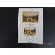 Carte Maximum - Corot - 2/3/1996 VILLE D'AVRAY - Cartes-Maximum