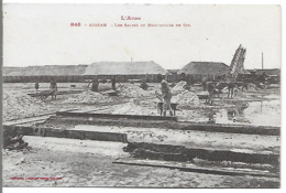 SIGEAN - Les Salins Et Monticules De Sel - Sigean
