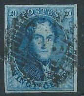 TB: Nr 11 Oblitéré P112 STAVELOT - Belles Marges - 1858-1862 Médaillons (9/12)