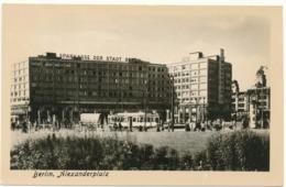 BERLIN - Alexanderplatz - Deutschland