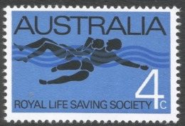 Australia. 1966 7th Anniv Of Royal Life Saving Society. 4c MNH. SG 406 - 1966-79 Elizabeth II