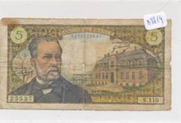 Numismatique -B3714 -France 5 Francs Pasteur  ( Catégorie,  Nature état ... Scans)-Envoi Gratuit - 1962-1997 ''Francs''