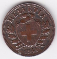 SUISSE. 2 RAPPEN 1941 B. BRONZE - Suisse