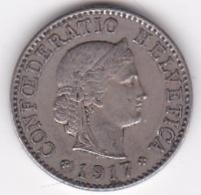 SUISSE. 5 RAPPEN 1917 B. Cupronickel - Suisse