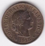 Suisse. 5 Rappen 1918 B. Laiton - Suisse