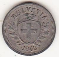 SUISSE. 1 RAPPEN 1942 B. ZINC - Suisse