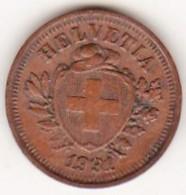 SUISSE. 1 RAPPEN 1931 B. BRONZE - Suisse