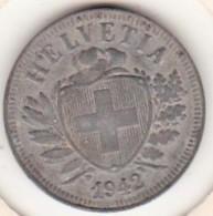SUISSE. 2 RAPPEN 1942 B. ZINC - Suisse