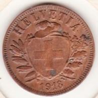 SUISSE. 2 RAPPEN 1918 B. BRONZE SUP/XF - Suisse