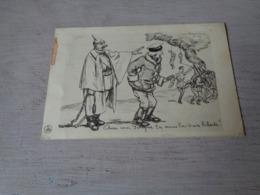 Guerre ( 592 )  Oorlog 1914 - 1918  -  Satirique  Illustrateur ?? - War 1914-18