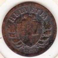 SUISSE. 2 RAPPEN 1851 A. BRONZE - Suisse