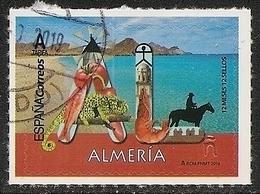 2019-ED. 5280 - 12 Meses, 12 Sellos. ALMERIA -USADO- - 1931-Today: 2nd Rep - ... Juan Carlos I