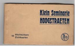 HOOGSTRATEN  HOOGSTRAETEN Klein Seminarie Boekje Met 18 Postkaarten (port 2,30€) - Hoogstraten