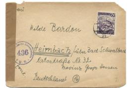 138 - 48 - Enveloppe Envoyée De Wien 1946 Censure - 1945-.... 2ème République