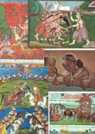 INDE Lot De 45 Superbes Cartes Non écrites Puri Kanchipouram Bhopal Amarnath  CPM/CPSM En TTBE - Cartes Postales