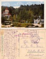 PITESTI / ARGES : PARCUL TRIVALEA - CARTE POSTALE VOYAGÉE En 1918 Par POSTE MILITAIRE : K.u.K. FELDPOSTSTAMT 211 (ad002) - Roumanie
